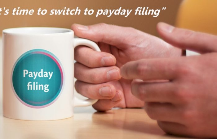PAYE Payday filing is coming!