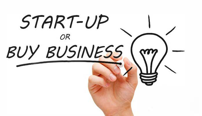 Buying or Start-up a Business創業還是購買現成生意?